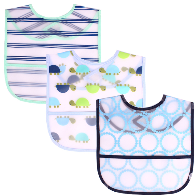 Newborn's Waterproof Acetate Bibs