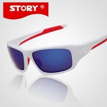 HISTORIA Nueva gafas de sol hombre gafas de Sol de Marca Hombres Deportes Al Aire Libre gafas ciclismo Gafas gafas de sol masculino Historia UV400