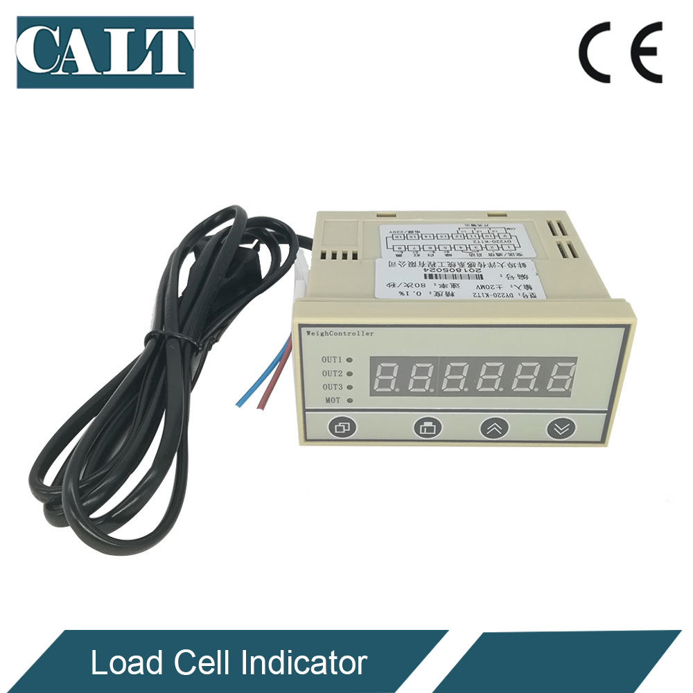DY220 load cell display controller Weight indicator Batching for weighing sensor relays rs485 4-20mA output optional
