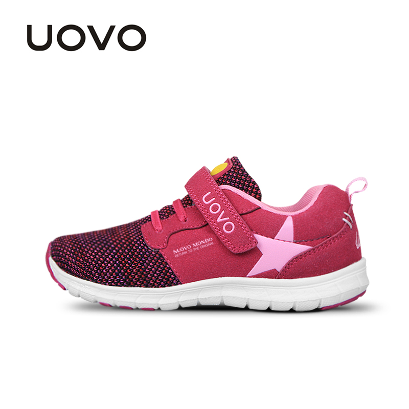 Image 3 - UOVO Spring Kids Shoes Fashion Breathable Mesh Shoes Children Sneakers For Boys And Girls Sport Running Shoes Size 27# 37#sneakers for boyschildren sneakersshoes child sneakers -