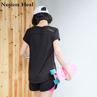 Fitness Shirts Breathable Sportswear Women T Shirt Sport Suit Yoga Top Quick Dry Running Shirt Gym