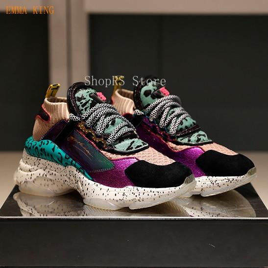 Couleur Celebrity Ville Semelle Noir Green Léopard De Décontractées army Sneakers Femmes Ins 2019 Mode Vert forme En Plate Eva Caoutchouc Chaussures qxfSnFEwa6