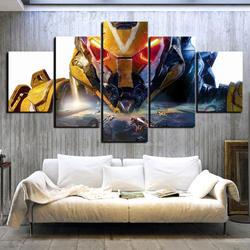 Anthem игровой постер 5 шт искусства картины, картины на холстах постер с изображением роботов настенные картины для домашнего декора