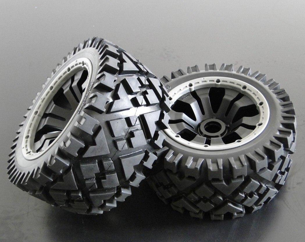 baja 5b all road rear  wheels set (only rear) tyrex all steel road dr 1 295 80r22 5 152 148m tl