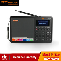 Portable Professional Radio GTMedia D1 DAB+Radio Stero Support Sleep For UK EU With Bluetooth Built in Loudspeaker