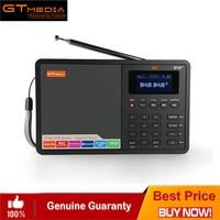 Portable Professional Radio GTMedia D1 DAB+Radio Stero Support Sleep For UK EU With Bluetooth Built in Loudspeaker