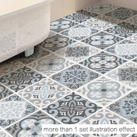 50x50cm Irregular pattern wall stickers floor stickers room bedroom bathroom kitchen cushions waterproof decorative stickers