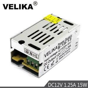 Single Output Power Supply Led Driver DC12V 1.25A 15W Power Supplies 110V 220V AC-DC 12V for Led Strip Modules Light lamp CNC(China)