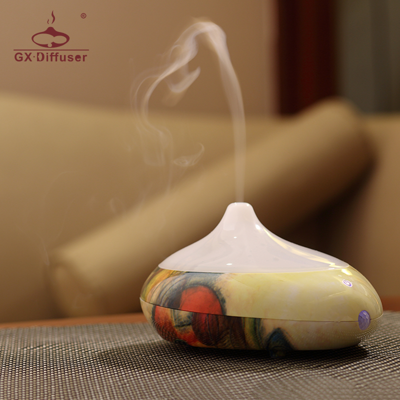 GX.Diffuser Infrared Sensation Ultrasonic Aroma Diffuser Essential Oil Humidifier USB Mist Maker Aromatherapy For Home Appliance