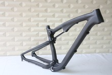 Free Shipping New 27.5 Full Suspension Mountain Bikes Frame 165x38mm 650B Carbon Fiber MTB Bike Frame 16″/18″/20″