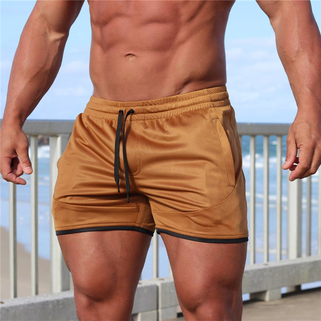 Summer new fitness shorts Fashion Breathable quick-drying gyms Bodybuilding Joggers shorts Slim fit shorts camouflage Sweatpants 2