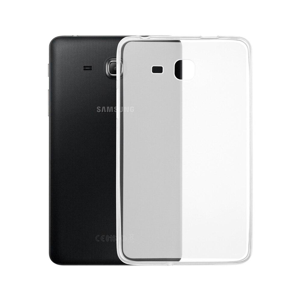 Тонкий матовый чехол для планшета из ТПУ для Samsung Galaxy Tab A 7,0 2016 a6 T280 T285 SM-T280 SM-T285 7,0 дюймов-0