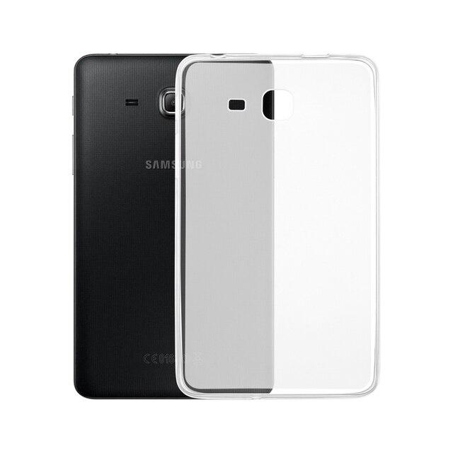 TPU Slim de Tablet para Samsung Galaxy Tab A 7,0 de 2016 a6 T280 T285 SM-T280 SM-T285 7,0 cubierta trasera