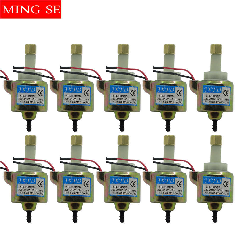 10 단위 400 와트 600 와트 900 와트 30DCB 18 와트 안개 기계 액세서리 빠는 막대 펌핑 플라스틱 공동 전자기 펌프 연기 기계