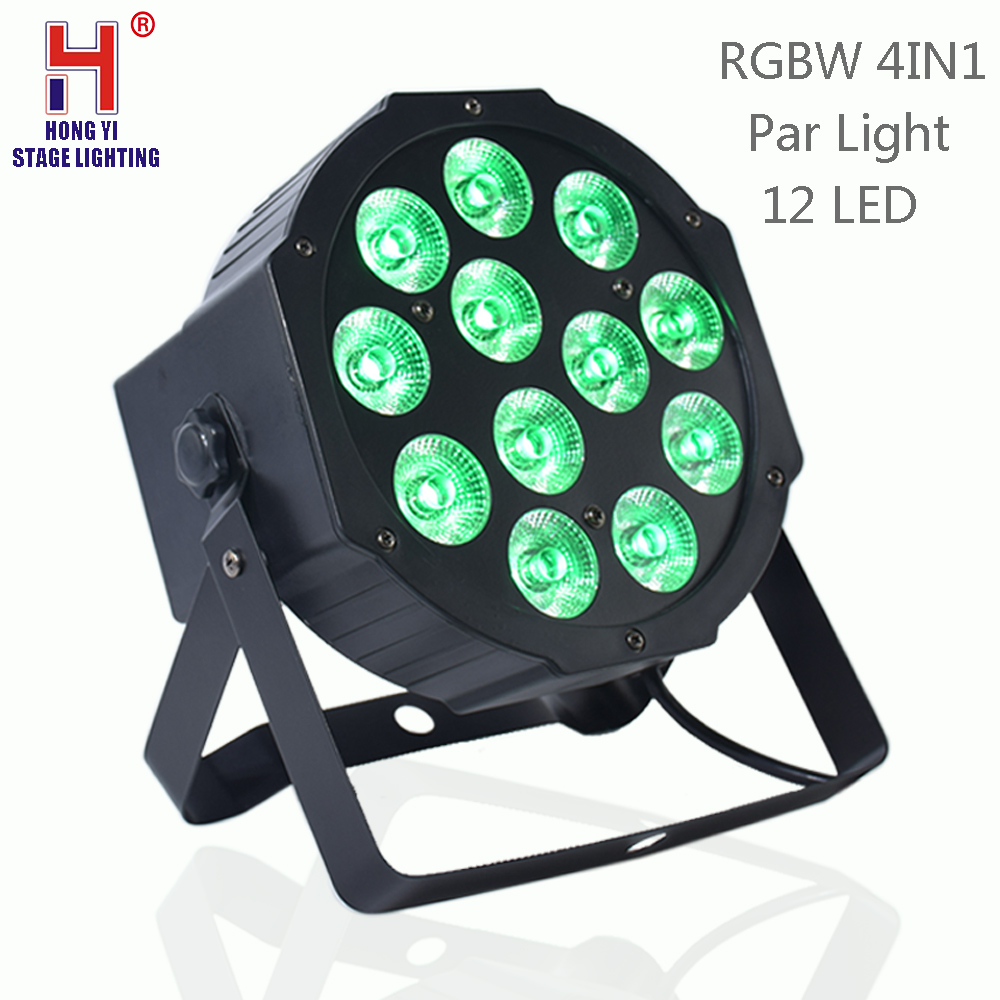 Par light 12x12W RGBW 4in1 led DMX512,Master Slave,Stand Alone mini par light For stage light