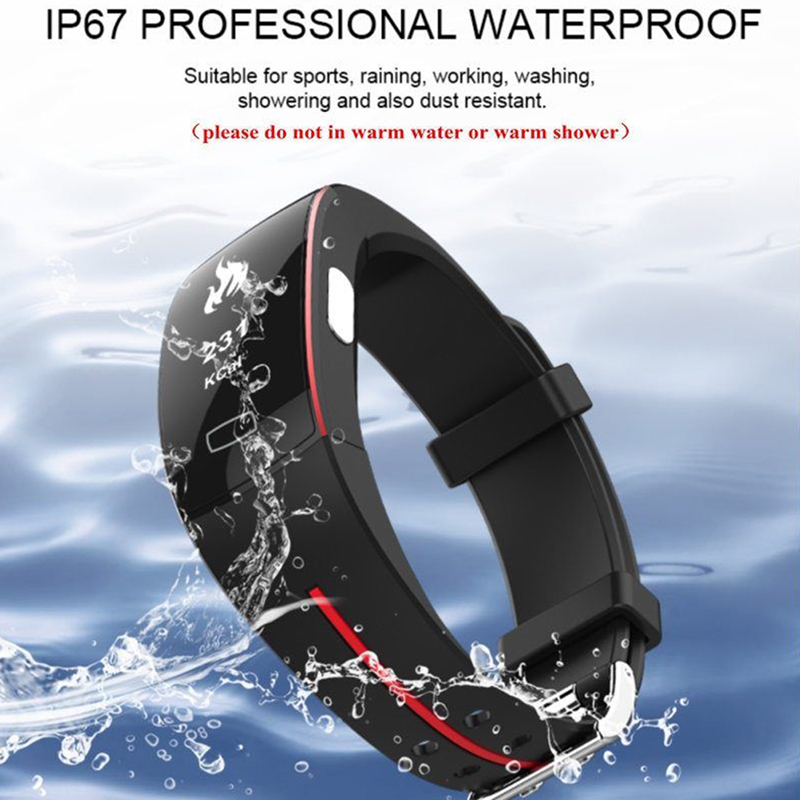 Permalink to P3 Smart Band ECG Monitor Blood Pressure Watch Real-time Heart Rate Sport Fitness Tracker Smart Bracelet ECG+PPG Smart Watch
