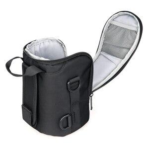 Image 5 - Eirmai náilon à prova dslr lente da câmera à prova dslr água sacos lente caso lentes malotes caso macio com cinto para canon sony nikon olympus