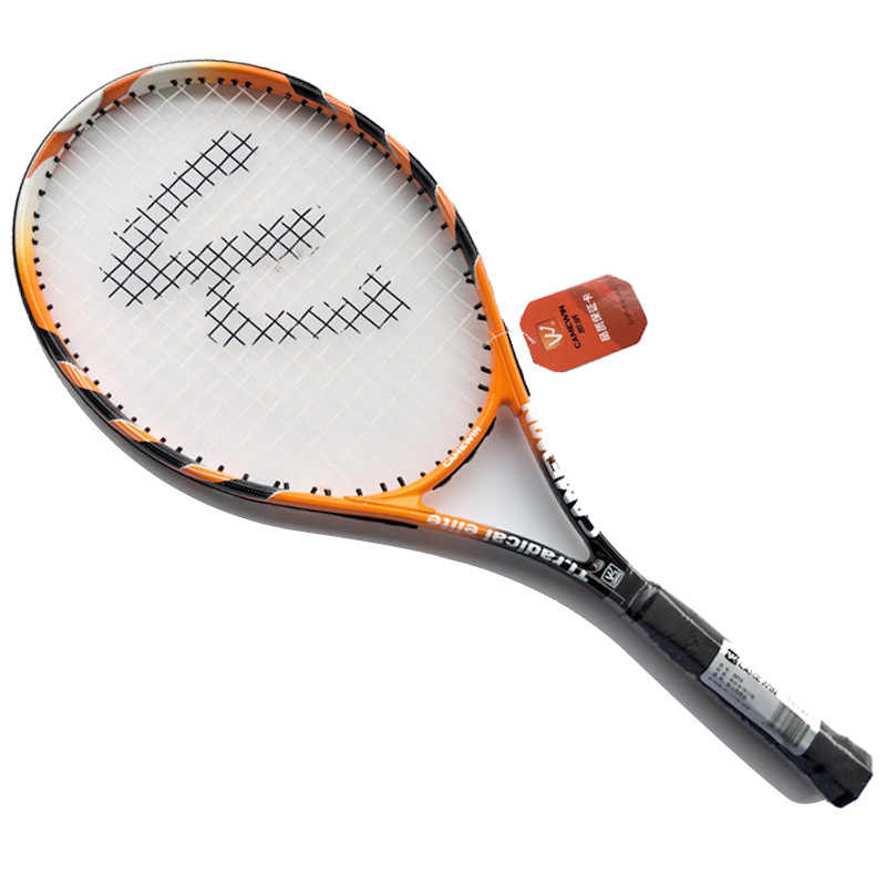 CAMEWIN 1 Piece Hight-quality Carbon Fiber Tennis Racket with Tennis Bag for Women and Men tenis masculino  raquete de tenis