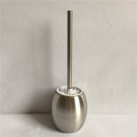 1Pcs High Quality Bathroom 304 Stainless Steel Bathroom Cleaning Toilet Brush Holder Toilet Accessory WY 011
