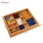 Houten Kleurrijke Kralen Soroban Abacus Math Speelgoed Berekening Kinderen Educatief Nummers Training Montessori Materialen MA035 3 - 3