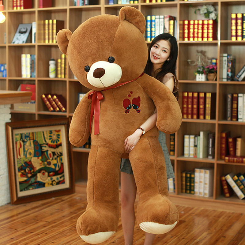 Image 5 - 1PC Large Teddy Bear Plush Toy Lovely Giant Bear Huge Stuffed Soft Dolls Kids Toy Birthday Gift For Girlfriend-in Stuffed & Plush Animals from Toys & Hobbies