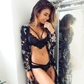 2016 New Summer Women's Lace Bralette Bra Bustier Crop Top Cami UnPadded Tank Tops Sexy Hollow Cage Bustier Bra Vest Womens Top