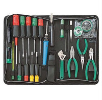 Hot ProsKit 1PK 813B 1 Basic Electronic Toolkit (220V), Hand Tool Set Screwdriver Pliers Needle File Tools Set