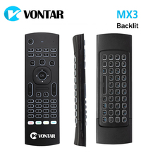 MX3 Air Mouse 2.4GHz Wireless Mini Keyboard Voice remote control IR Learning Remote Control For PC Android TV Box x96 mini x96