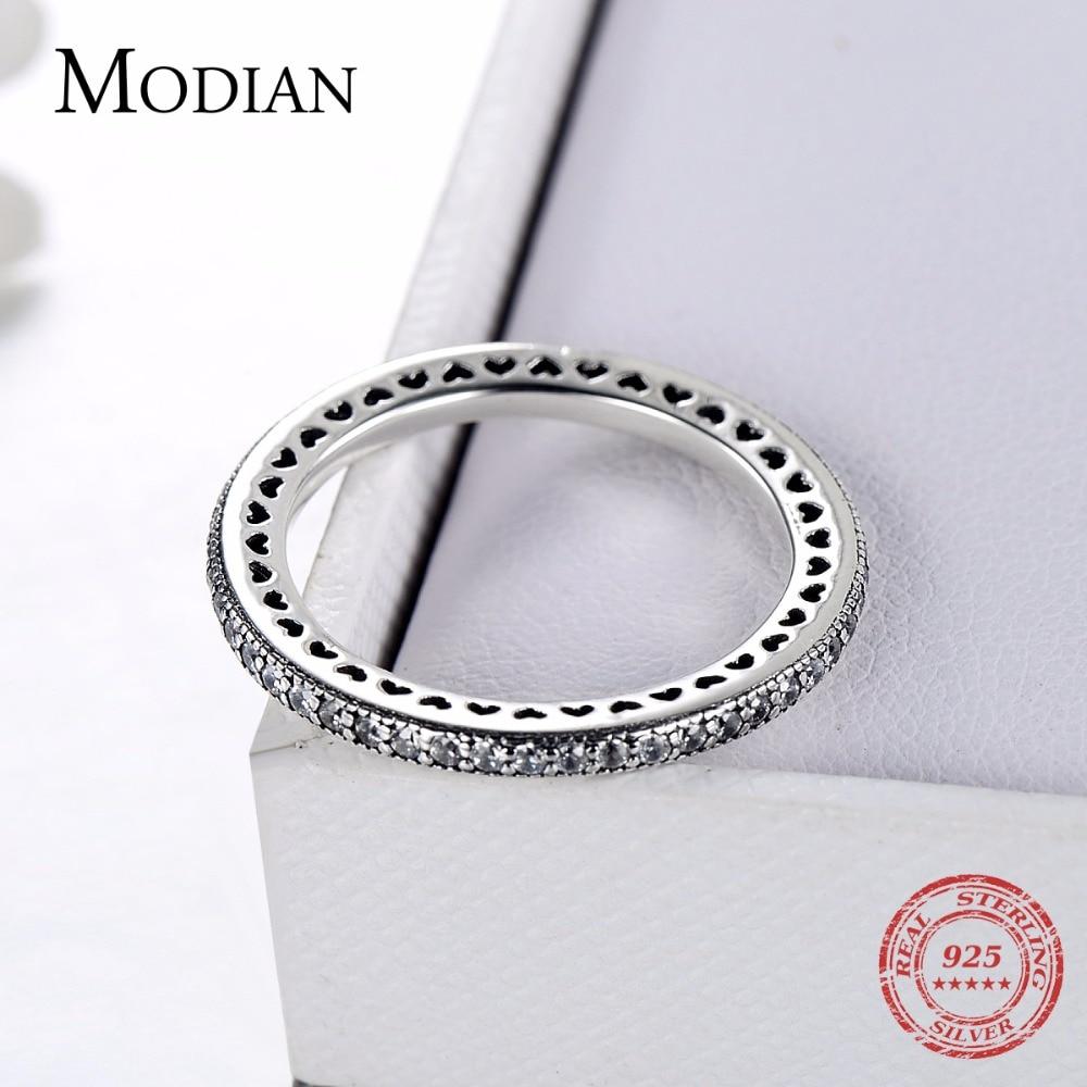 טבעת ללבות אותנטית מכסף אמיתי 4
