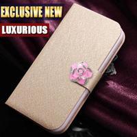 Luxury Leather Case for Motorola RAZR I XT890 High Quality Flip Cover For Motorola XT890 cellphone Case 5 Colors in Stock