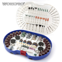 Workpro 276 Piece Rotary Tool Accessories Kit For Easy Cutting Grinding Sanding Carving And Polishing On
