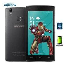 """Doogee x5 max pro/x5 max 4g 5.0 """"Huella Digital HD 4000 mAh OTG Android 6.0 Smartphone MTK6737 Teléfono Móvil 2 GB + 16 GB 8MP Teléfono Móvil"""