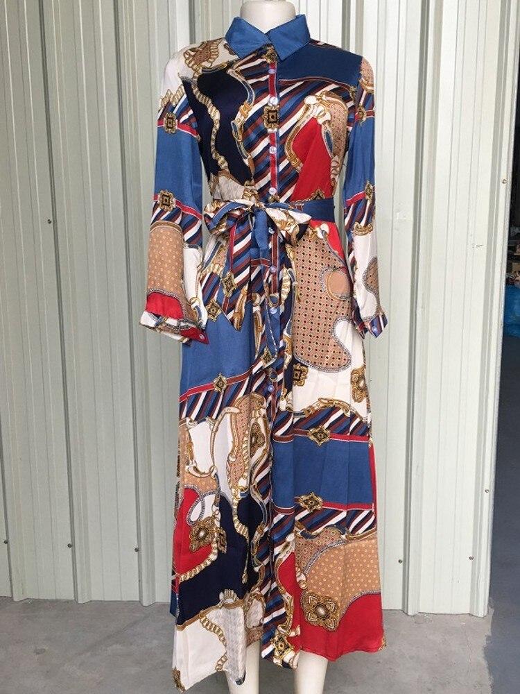 2019 African Clothes African Dresses For Women Africa Dress Print Dashiki Ladies Clothing Ankara Plus Size Africa Women Dress