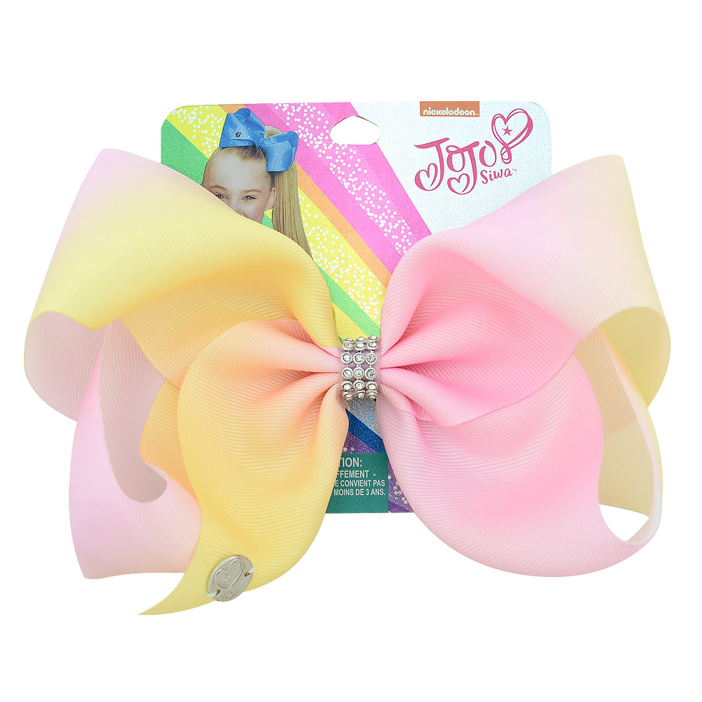 """Details about  /8/"""" JOJO SIWA Large Love Heart hair bows with Alligator clip girls kids bowknot"""
