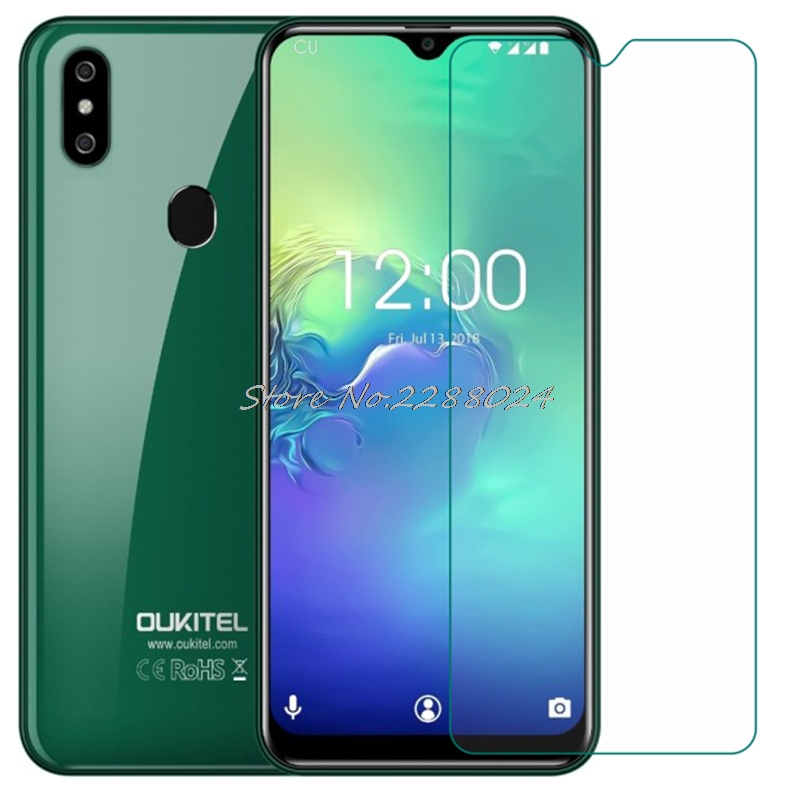 Smartphone 9H Tempered Glass for Oukitel C15 Pro  C15pro 6.09  GLASS Protective Film Screen Protector cover