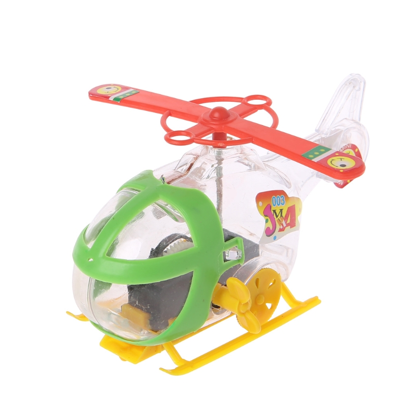 HBB 1PC Mini Helicopter Aircraft Clockwork Winding Drones Kids Toy Birthday Party Gift Baby Children Classic Toys