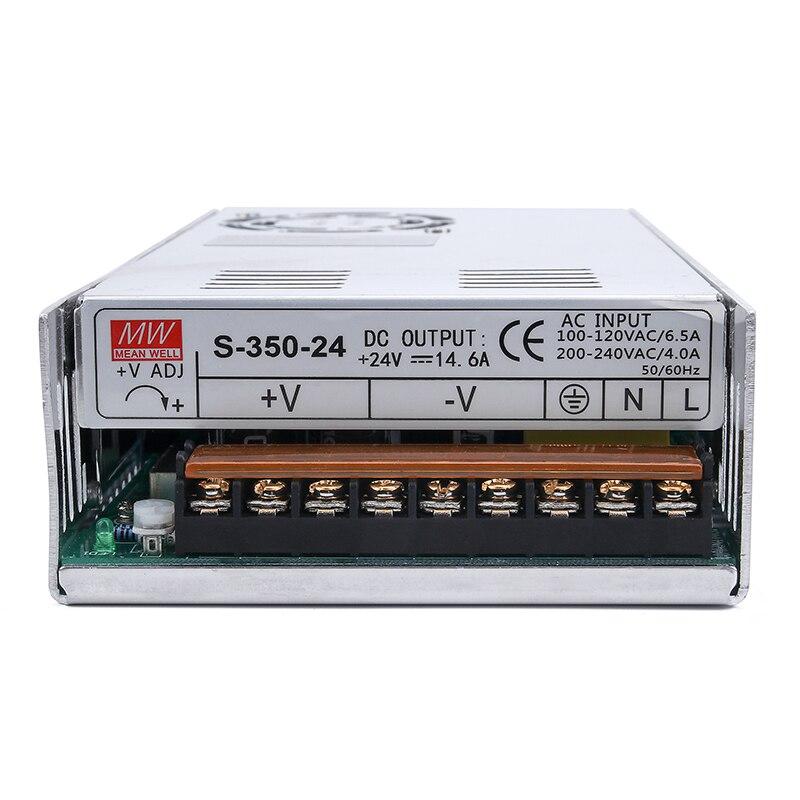 4 axes/3 Axes CNC Routeur Kit 4 pièces TB6600 4A pilote de moteur pas à pas + Nema23 Moteur 57HS5630A4 + 5 Axes carte D'interface + Alimentation - 6