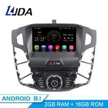LJDA Android 8,1 DVD плеер автомобиля для FORD FOCUS 2012 2013 2014 2015 2016 gps навигации 1 Дин радио wi-fi-мультимедиа стерео SD