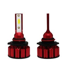 цена на 2pcs NEW Car Q6 LED Headlight Kit H11 9006 9005 H4 H7 72W 8000LM 6000K Bright DOB LED Headlight Bulbs Kit Lamp Car Accessories