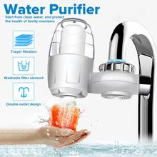 Tap Water Purifier 7 Layer Clean Kitchen Faucet Mount Washable Ceramic Percolator Water Filter Filtro Rust Bacteria Removal