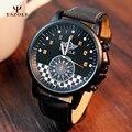 Yazole deportes relojes 2017 marca de lujo reloj militar hombres de cuarzo analógico reloj de gran macho de línea reloj hombre militar relogios masculino