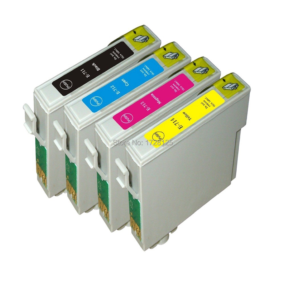 4x Compatible T0711 T0891 XL Ink Cartridges for Epson stylus SX410 SX415  SX510 SX515 SX515W SX510W Printer-in Ink Cartridges from Computer & Office  on ...