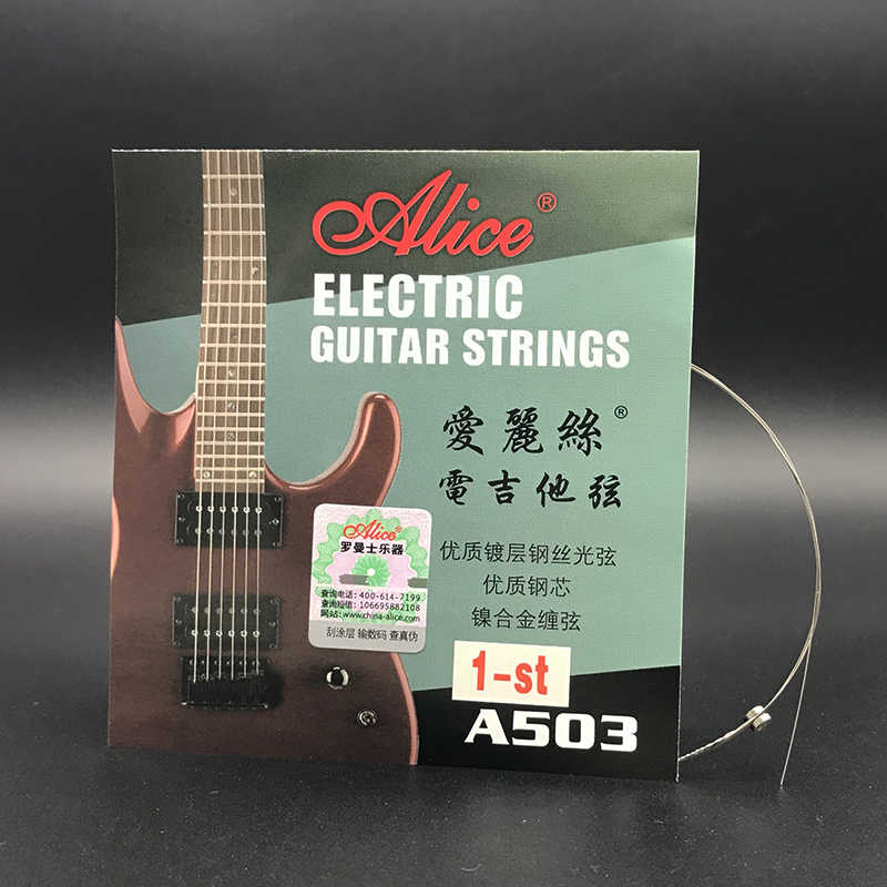 10pcs Alice Electric Guitar Strings A503 A503sl 009 Inch 23 Mm 1 1st High
