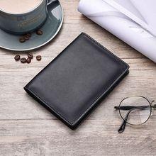 купить High Quality Retro Genuine Leather Cowhide Travel Passport ID Card Cover Holder Case Protector Organizer Wallet дешево