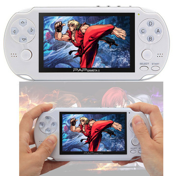 CoolBaby New 4.3 inch Large Screen PAP Gameta II plus 64 Bit Handheld Game Console Support Camera MP4 MP5 Video Game Players