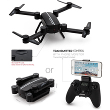 EBOYU(TM) X8TW Sky Hunter Foldable Rc Selfie Drone with Wifi FPV 0.3MP HD Camera Altitude Hold Headless Mode RC Quadcopter Drone