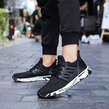 2018 new  Fashion Spring Autumn Casual Shoes Men Breathable Mesh Outdoor Walking 5