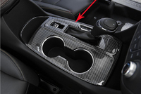 1pc Interior Gear Shift Box Cover Trim Panel Frame High Quality Car Styling Decorations Fit For