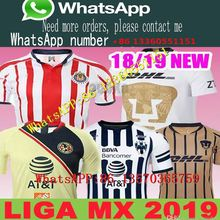 ffcf87a4d82 Tijuana 2018 19 LIGA MX Club America Toluca soccer Jerseys New home away  Third Yellow 17 18 Monterrey Camisetas football Chivas