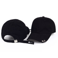 2017 new baseball cap with rings bts jimin hat bts suga cap BTS LIVE THE WINGS TOUR kpop bts cap Iron Ring snapback Hats(China)